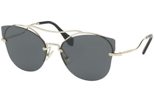 62d54313599b Image is loading NEW-MIU-MIU-SCENIQUE-Butterfly-Gold-Black-Mirrored-
