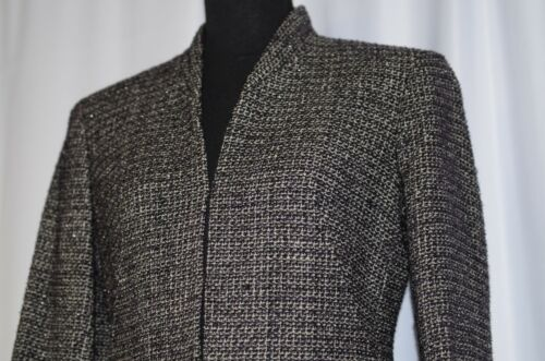 Shimm Jones Bld 4 Ny in lana White Sz Collezione Blk Boucle Purple Jacket Blazer dXpqFqwz