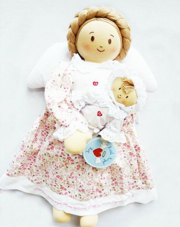 NEW Girl angel doll doll doll with baby 6c4c31