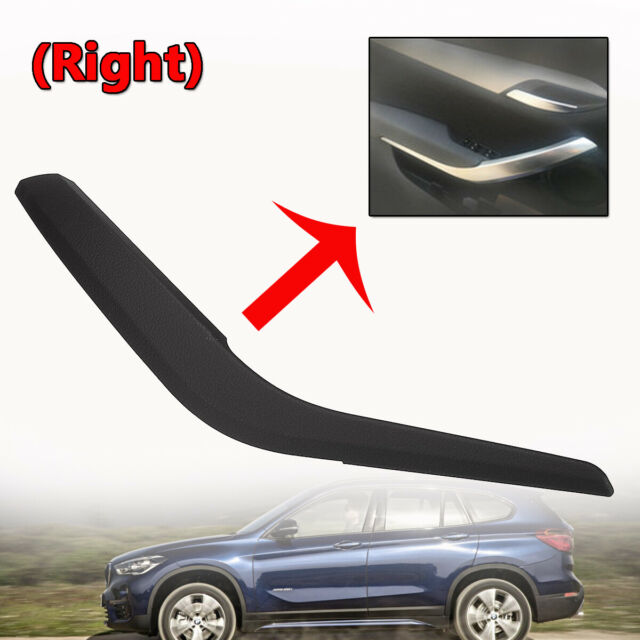 Right Side Inner Door Panel Handle Pull Trim Cover ABS For BMW X1 E84