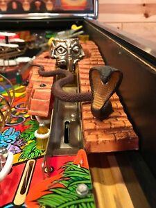 New-Indiana-Jones-Pinball-Machine-Cobra-Snake-Mod