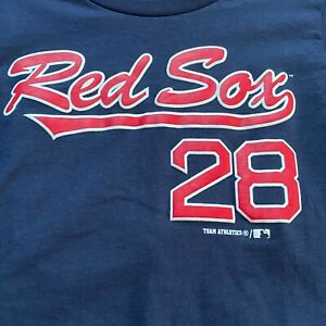 MLB Genuine Merchandise childs Boston Red Sox JD Martinez #28 shirt-8/10-NWT