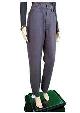 FERRE Jeans Womens Brown Vtg 90s High Waist Designer Boyfriend sz 12 14 W31 AN79