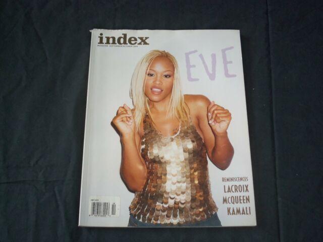 2003 SEPTEMBER/OCTOBER INDEX MAGAZINE