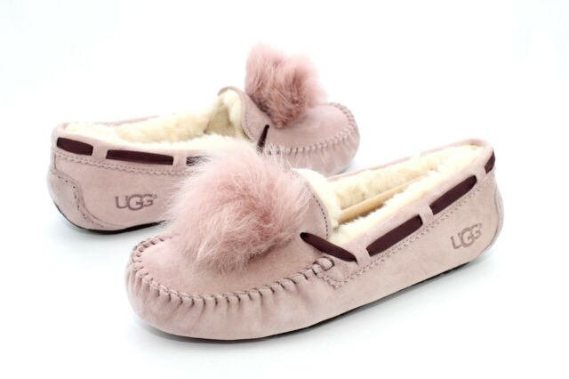 a6928d3fa8e UGG Australia Dakota Pom Pom Women's Shoes 1019015 Dusk 9