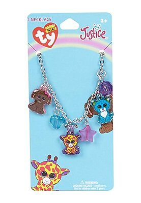New FREE SHIPPING Ty Beanie Boos Charm Necklace