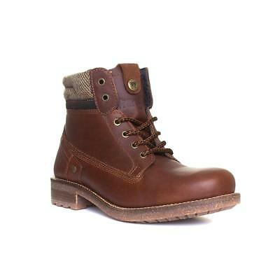Sizes 7,8,9,10,11,12 Wrangler Aviator Mens Tan Leather Lace Up Boot