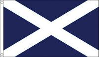 ST ANDREWS CROSS FLAG 5' x 3' Dark Blue Saltire Scotland Scottish Flags