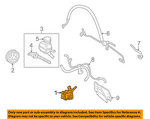 image is loading toyota-oem-00-02-corolla-power-steering-pump-