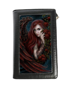 Linda-M-Jones-Purse-Wallet-featuring-3D-image-of-Daemon-La-Rosa