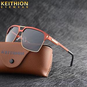 Fashion-Design-Square-Polarized-Sunglasse-Mens-Driving-Sports-Outdoor-Eyewear
