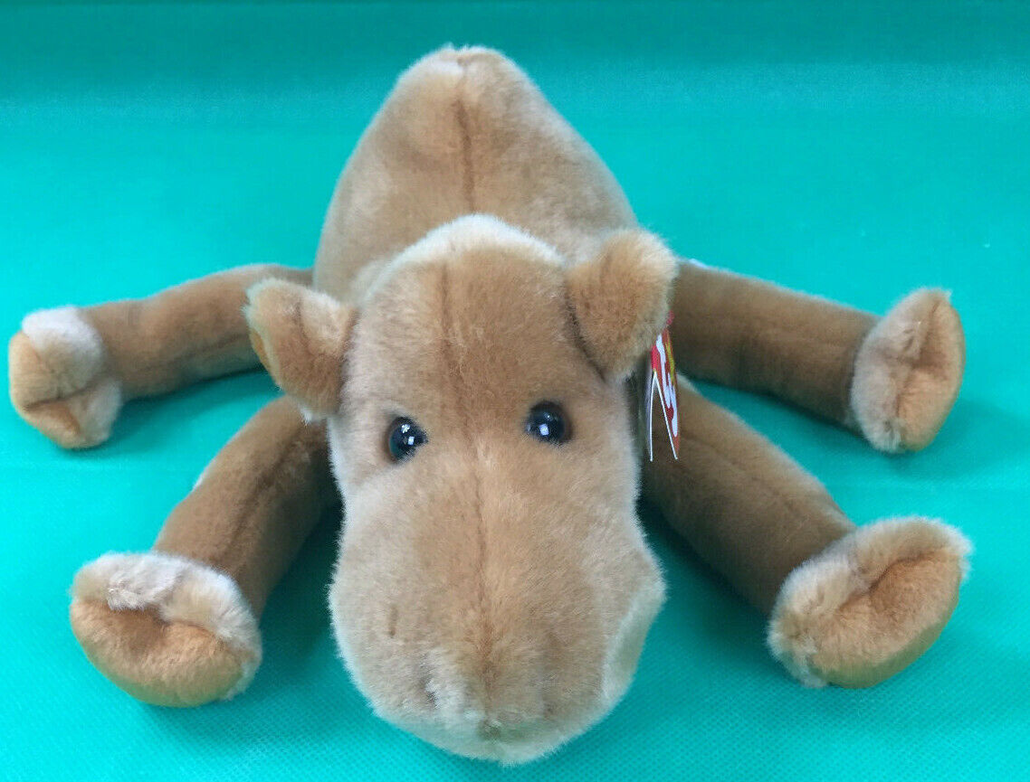 1998 Ty Beanie Buddy Humphrey the Camel with Tags Excellent Condition