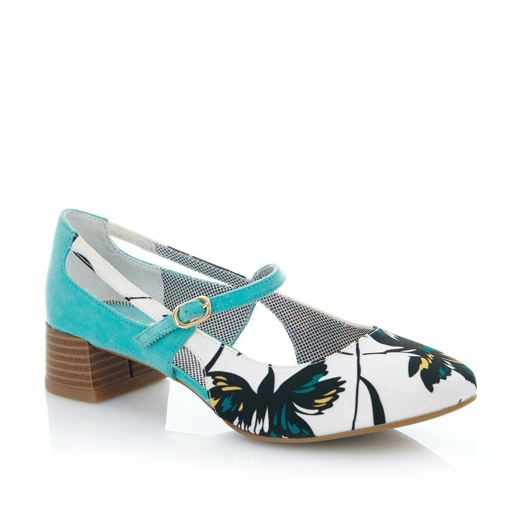 Ruby Shoo Iris Iris Iris Aqua shoes 456fae