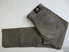 Sommer Stretch Hose FRIEDA&FREDDIES Twill Stretchjeans khaki 28  TIP TOP/D147