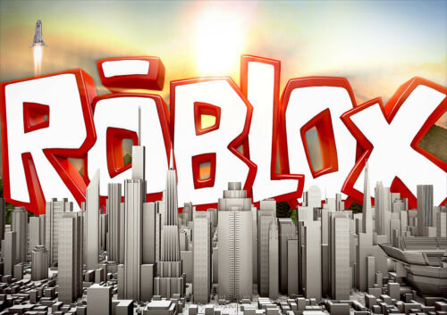 CHOOSE YOUR SIZE ROBLOX Poster Smash Hit Virtual World Online Game Hot FREE P+P