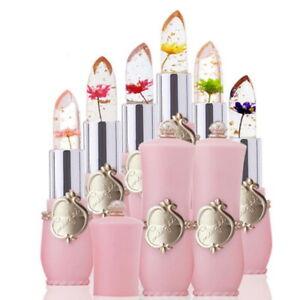 Reino-Unido-Crystal-Jelly-lapiz-labial-magia-Flor-De-Balsamo-Para-Labios-Color-de-cambio-de-la