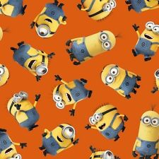 1 IN A MINION 23990 O by Quilting Treaures 1/2 YARD