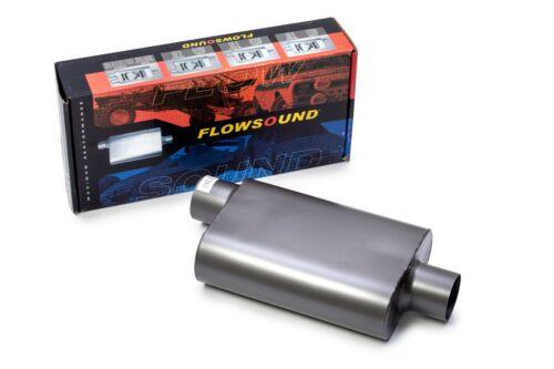 """04-08 Dodge Ram Truck 3/"""" Single Exhaust Kit Flowsound 2-Chamber Muffler"""
