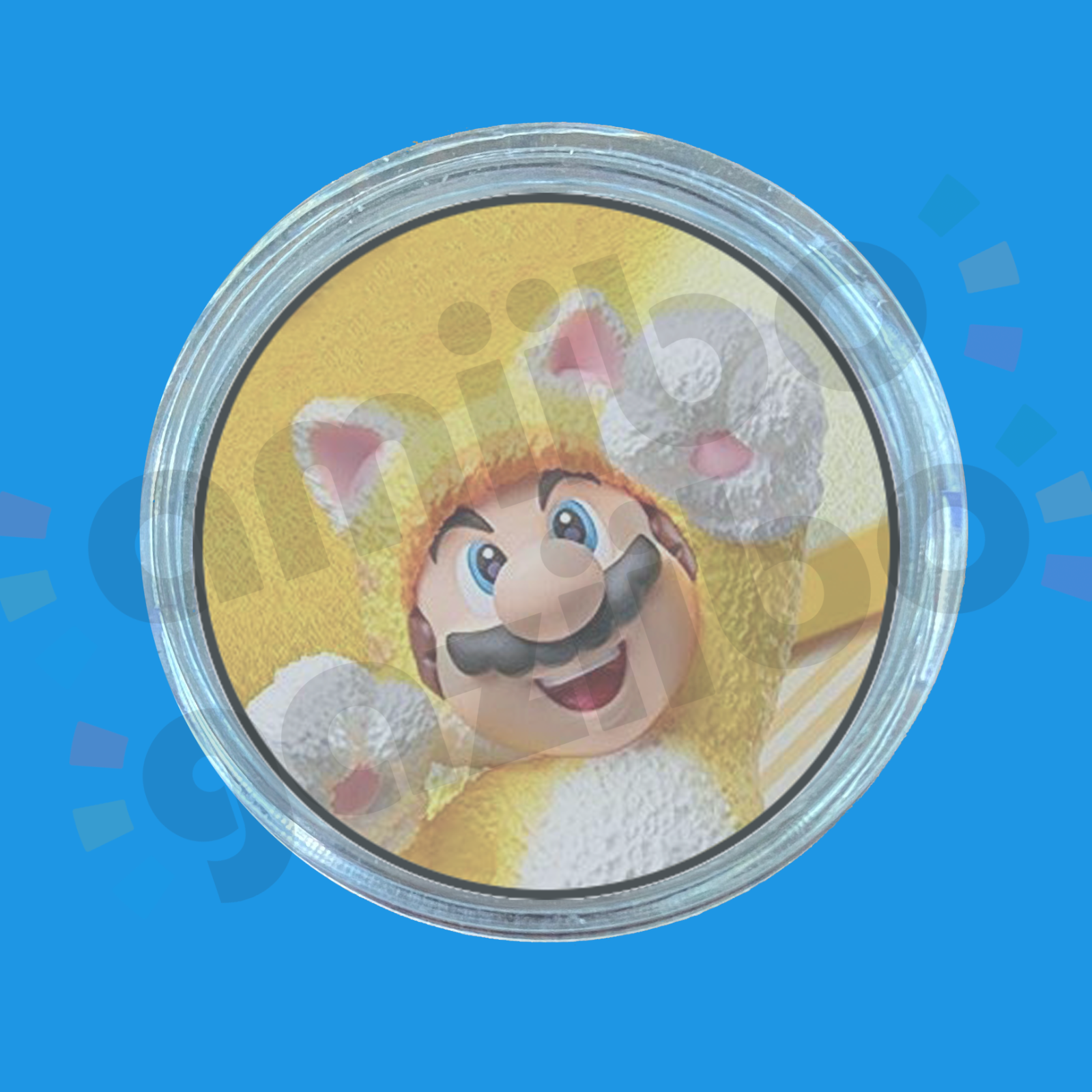 Cat Mario Amiibo COIN | Super Mario 3D World + Bowser's Fury for Switch