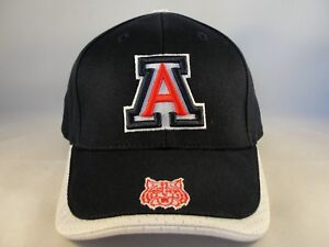 best sneakers a3d0d 50f94 Image is loading Arizona-Wildcats-NCAA-Vintage-Adjustable-Strap-Cap-Hat