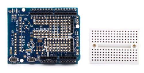 BREAD BOARD Chip 29 Dispositivo compatibile con Arduino Prototype Proto Shield Expansion Board