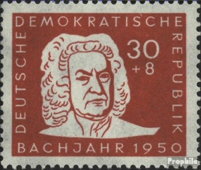 Ddr 258 Unmounted Mint Never Hinged 1950 200.death Of Bach Stamps Music