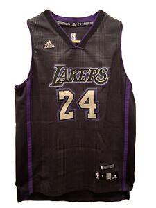 Kobe Bryant #24 LA Lakers Black Purple Limited Edition Jersey ...