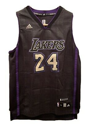 Kobe Bryant #24 LA Lakers Black Purple Limited Edition Jersey Youth LARGE   eBay