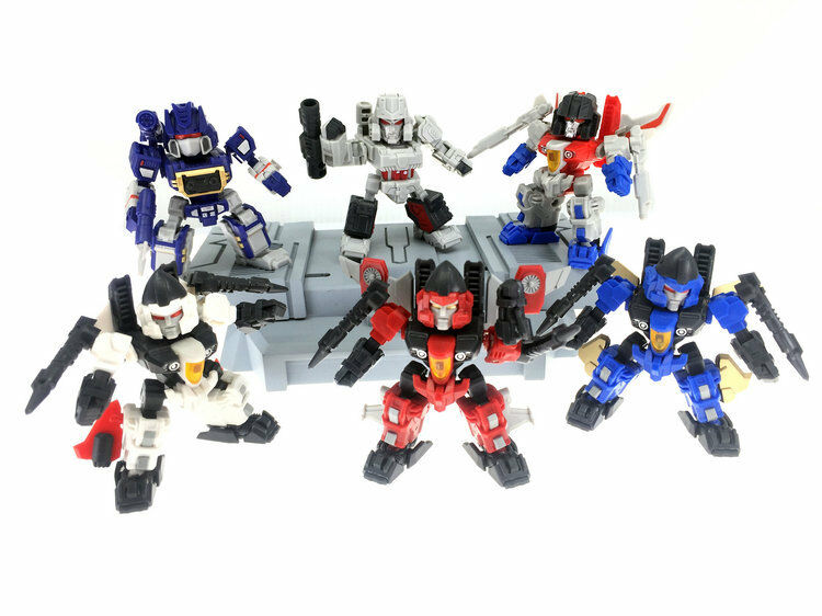 [Toys Hero] In Hand TRANSFORMERS Master Made SDMT-01 SD Set of 6