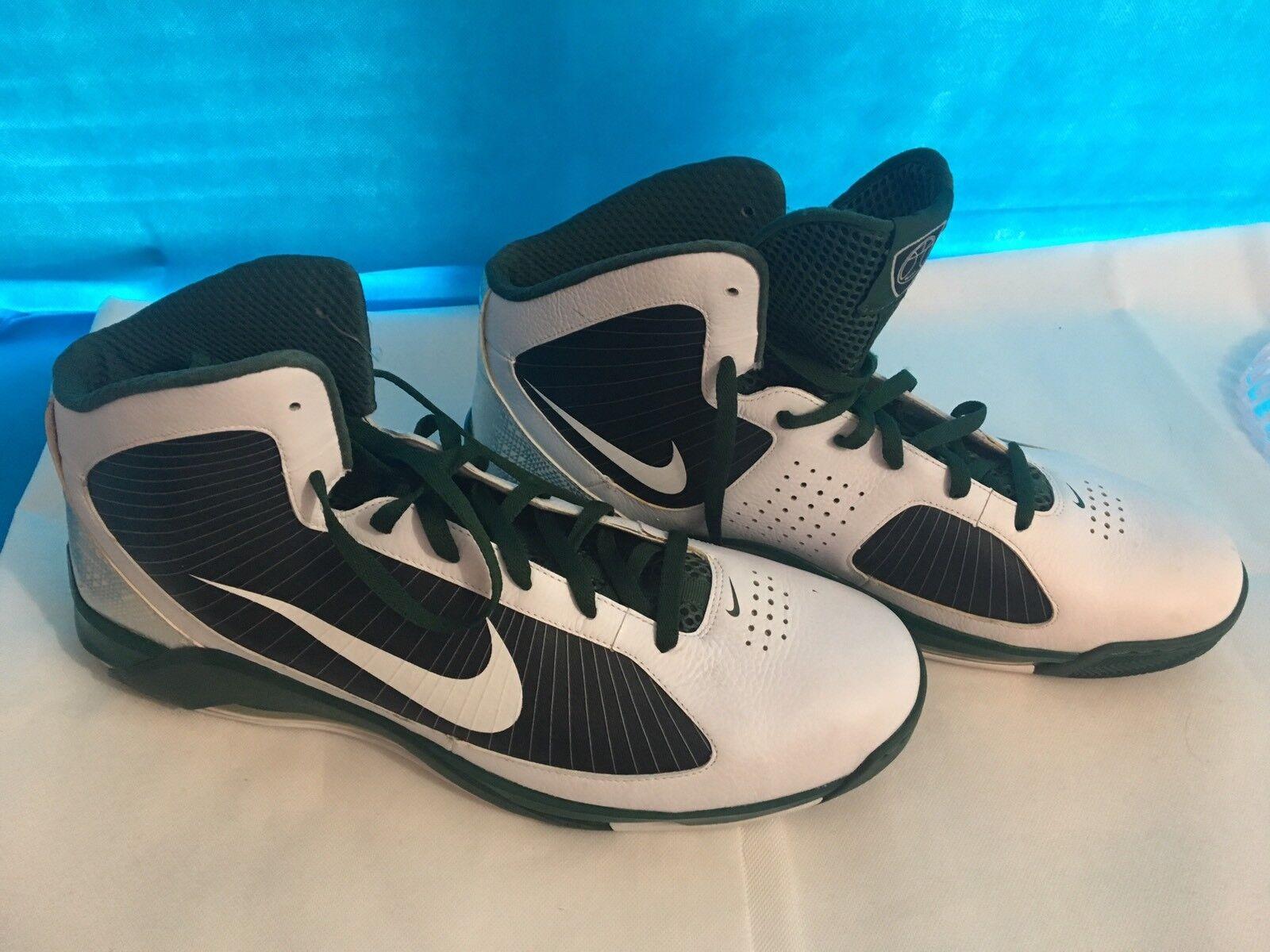 Nike Zoom Hyperfuse Retro Hombre Tamaño de 18 zapatilla de baloncesto de Tamaño cuero nueva d7505b