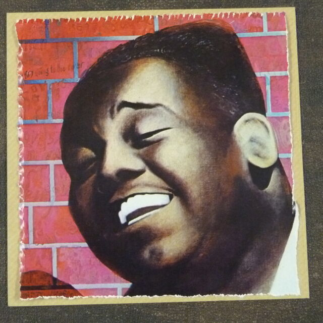POP-KARD feat. FATS DOMINO cutting 15x15cm greeting card fathers day ? aao