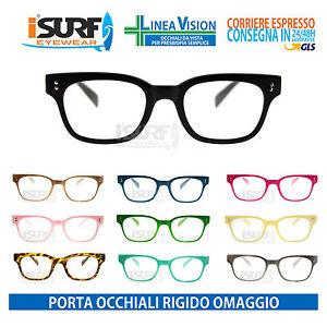 Occhiali Da Vista Per Lettura Marca Isurf Modello Mughini Per Presbiopia Semplice (diottria +2,50, Fuxia)