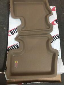 Set of 2 Lund 383078-G Catch-It Vinyl Grey Rear Seat Floor Mat