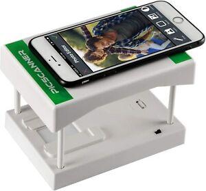 Rybozen White Mobile Film Scanner, Converts 35mm Slides&Negatives into Digital