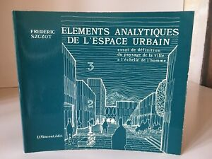 Frederic Szczot Elements Analytiques Di SPAZIO Urban D.Vincent 1974