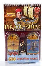 Build 3D Pirate Ship model set Activity Kit Party Favor Decor Toy Figure w cards