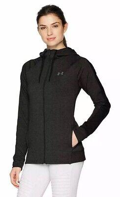 NWT $80 UNDER ARMOUR Performance Women/'s Fleece Full Zip Jacket Black Size M