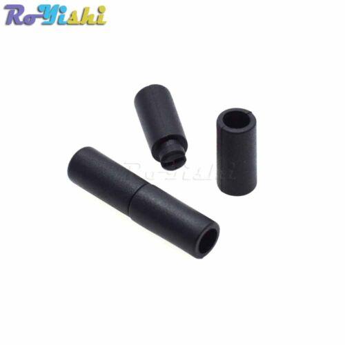 Plastic Black Lanyard Safety Breakaway Pop Barrel Connectors For Ribbon Lanyards