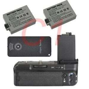 Battery-Grip-Pack-for-Canon-EOS-450D-500D-1000D-XS-XSi-2-LP-E5-battery-as-BG-E5