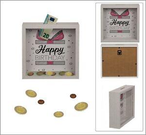 Happy-Birthday-Piggy-Bank-Pink-Wood-Frame-Acyrlic-7-7-8x7-7-8x2in