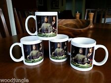4 NEW LUCA PACIOLI PORTRAIT COFFEE MUGS ACCOUNTANT  ACCOUNTING JACOPO DE BARBARI