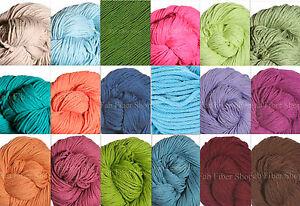 Berroco-Weekend-Chunky-100g-Cotton-Blend-Yarn-Color-Choice-Loom-Knit-Crochet-FS