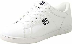 FILA-New-Campora-Women-039-s-White-Leather-Casual-Shoes-Sneakers-White-Black