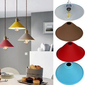 Retro Vintage Metal Light Shade Bedroom Kitchen Modern Style Light Shade only UK
