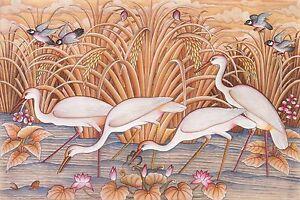 Hand-painting-Balinese-Sparrow-Stork-Birds-304