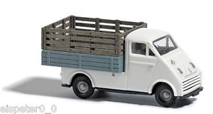 Busch-40923-DKW-3-6-a-plateau-transport-de-brebis-H0-voiture-vehicule