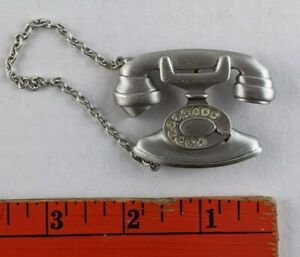 silver vintage brooch Signed J.J