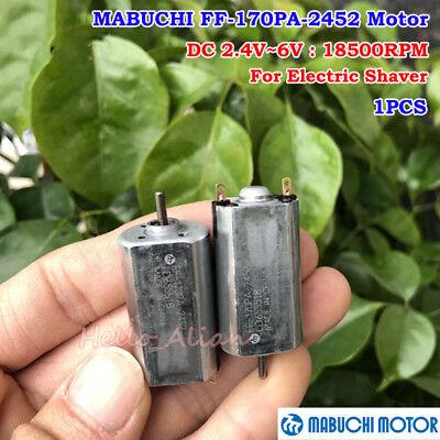 Mabuchi FF-260PA-4030 DC2.4V 3V 17000RPM High Speed 260 DC Motor Electric Shaver