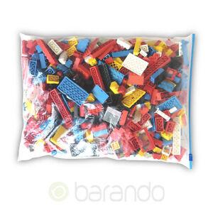 1-kg-LEGO-Steine-Kiloware-amp-Teile-Konvolut-gemischt-ca-900-Teile-gereinigt