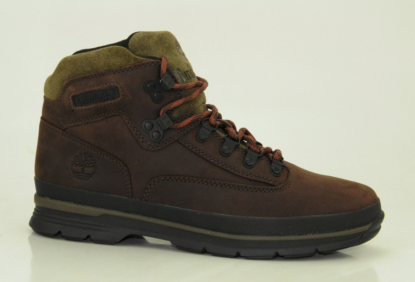 Timberland Euro Hiker Leather Boots Men Hiking Lace Up A1RAR